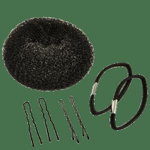 Kit Complete My Look 166 Black Coque Rosquinha (7 Produtos)