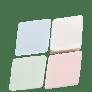 Diamond Sponge - Esponja Para Base E Corretivo (4 Unidades)
