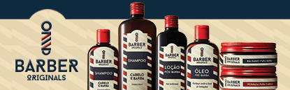 Pomada e Pasta Barber Originals