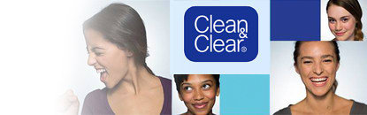 Esfoliante Clean & Clear para o Rosto