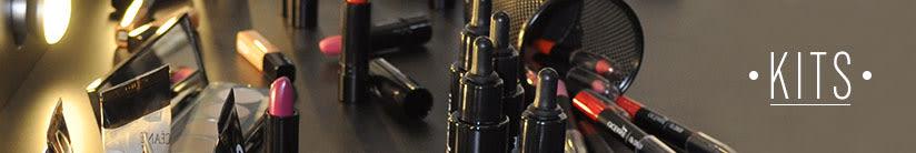 Kits de Produtos de Cabelos, Maquiagem e Pele