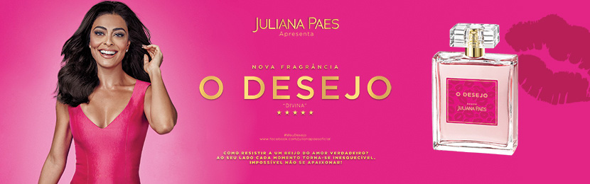 Perfumes Juliana Paes