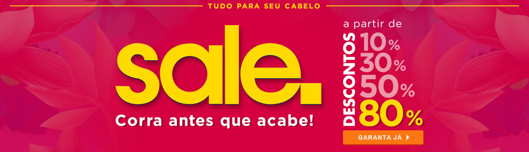 Home Cabelos: Hair Sale até 80% V2