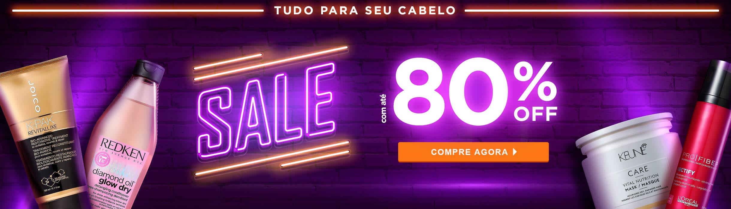 Home Cabelos: Hair Sale até 80%