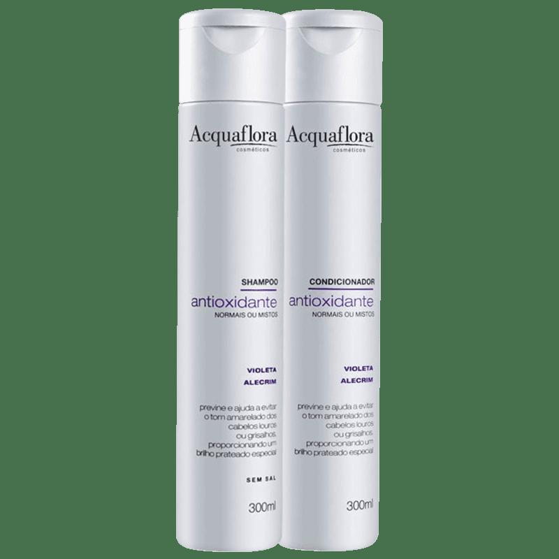 Kit Acquaflora Antioxidante Normais ou Mistos Duo (2 Produtos)