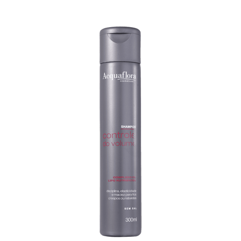 Acquaflora Controle do Volume - Shampoo sem Sal 300ml