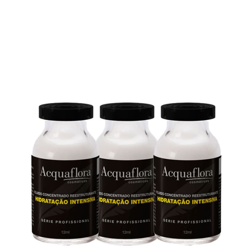 Acquaflora Hidratação Intensiva - Ampola de Hidratação 3x13ml
