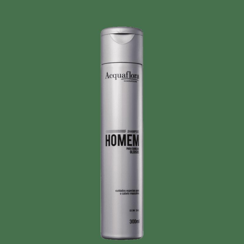 Acquaflora Homem Cabelos Oleosos - Shampoo sem Sal 300ml