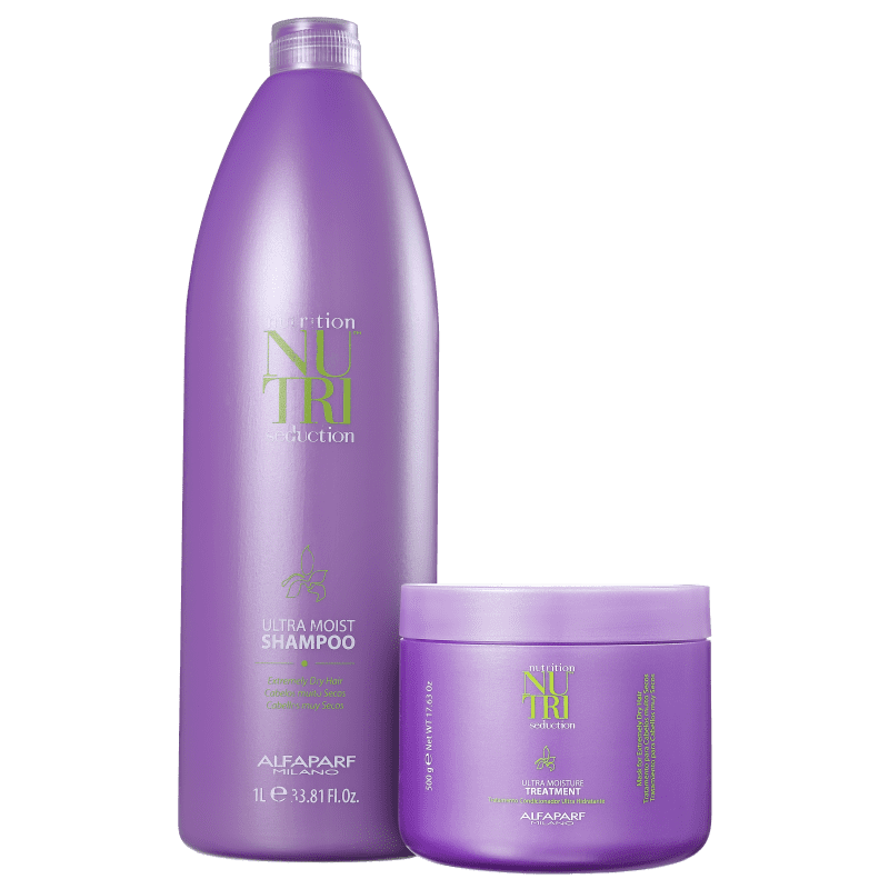 Kit Alfaparf Nutri Seduction Ultra Moist Duo Salon (2 Produtos)