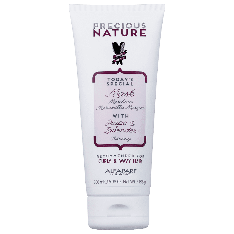 Alfaparf Precious Nature Grape & Lavender - Máscara Capilar 200ml
