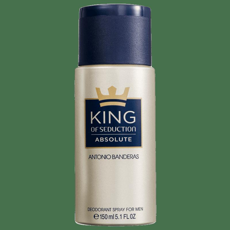 Antonio Banderas Seduction King of Absolute - Desodorante Masculino 150ml