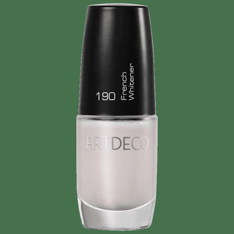 Artdeco Ceramic Nail Lacquer 190 French Whitener - Esmalte Cremoso 6ml