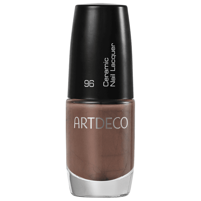 Artdeco Ceramic Nail Lacquer 96 Walnut Wood - Esmalte Cremoso 6ml