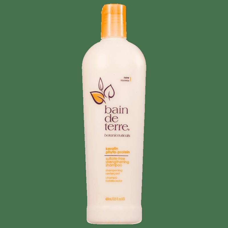 Bain de Terre Keratin Phyto-Protein Sulfate-Free Strengthening - Shampoo 400ml