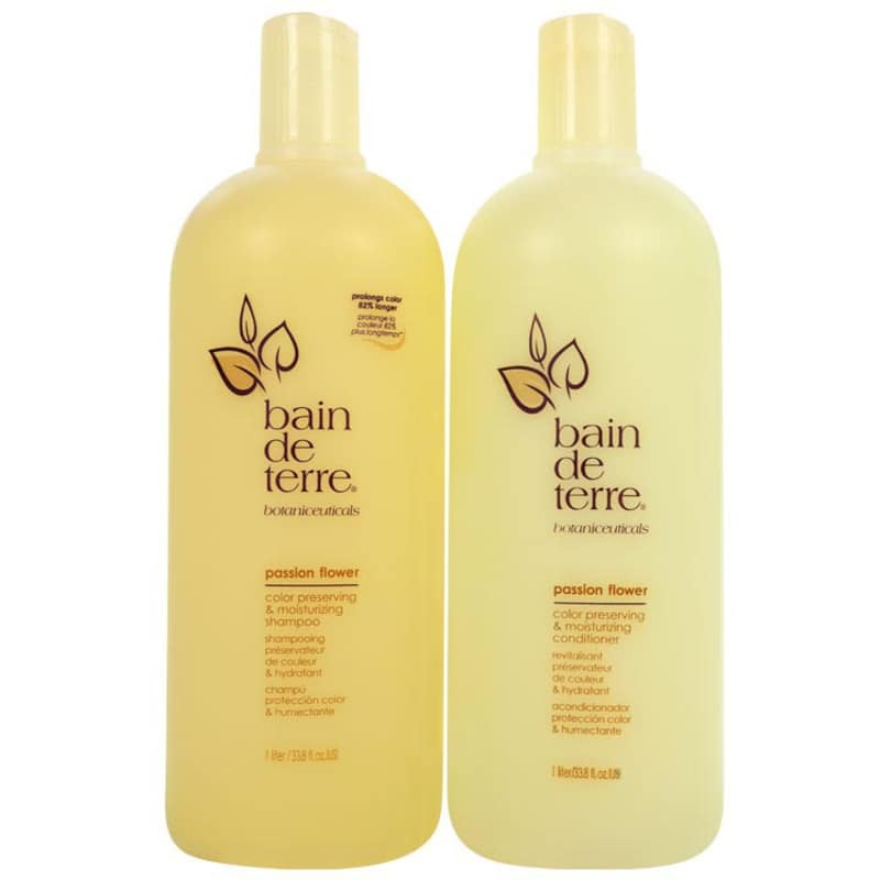 Bain de Terre Passion Flower Salon Duo Kit (2 Produtos)