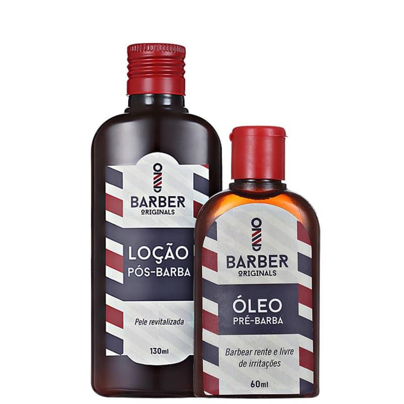 Barber Originals Cuidados Pré-Barba e Pós-Barba Kit (2 Produtos)