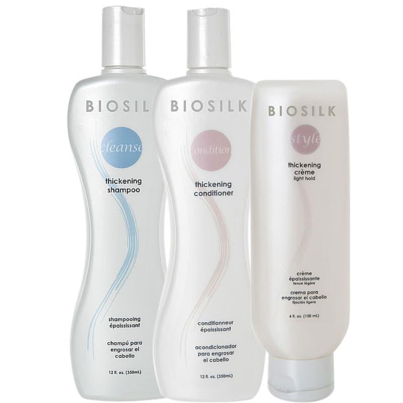 Biosilk Thickening Trio Kit (3 Produtos)