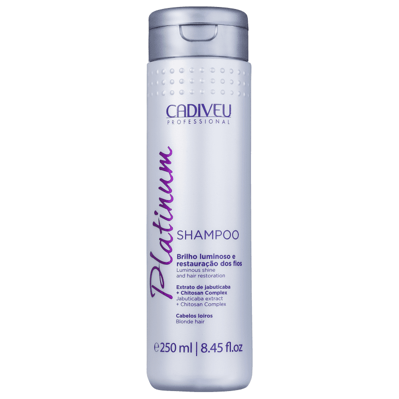 Cadiveu Professional Platinum - Shampoo Desamarelador 250ml
