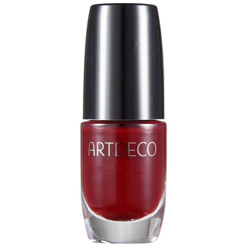 Artdeco Ceramic Nail Lacquer Deep Scarlet Red - Esmalte Cremoso 6ml