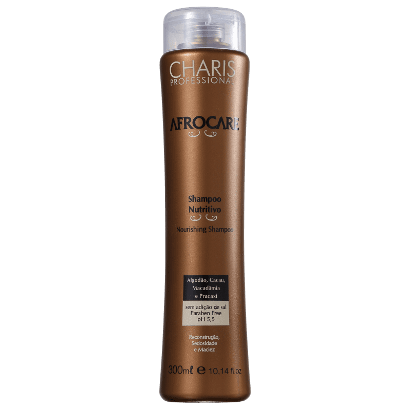 Charis Afrocare Nutritivo - Shampoo sem Sal 300ml