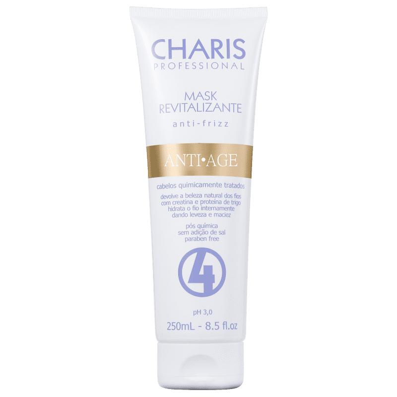Charis Anti Age Revitalizante - Máscara Capilar 250ml