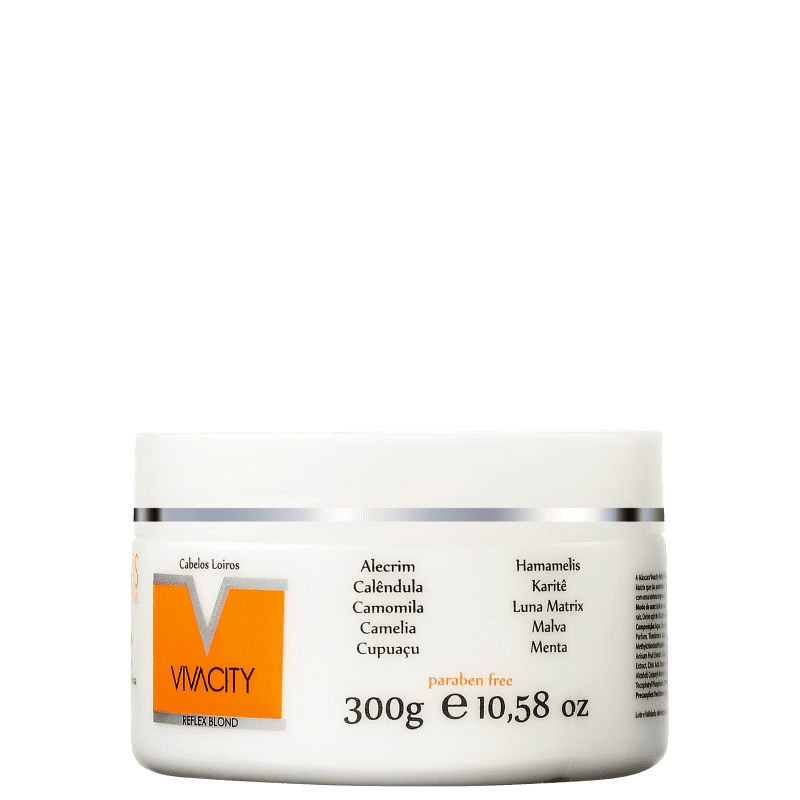 Charis Vivacity Reflex Blond - Máscara Capilar 300g