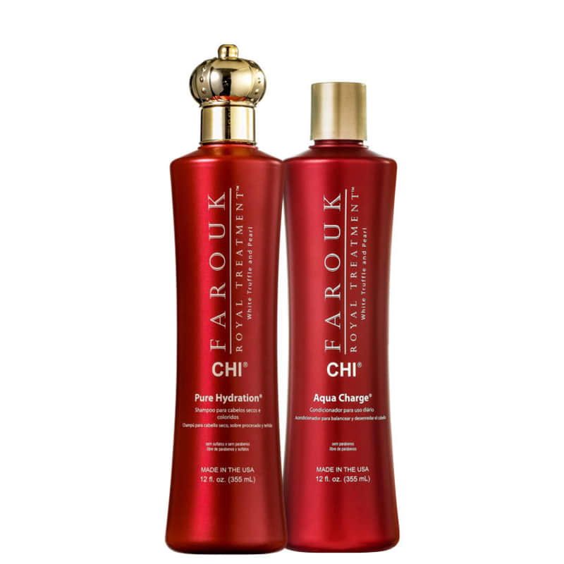 CHI Farouk Royal Treatment Hydration Charge Duo Kit (2 Produtos)