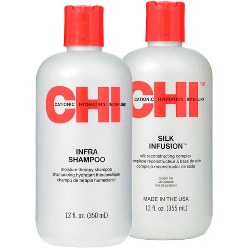 Kit CHI Infra Collection Silk Reconstructing (2 Produtos)