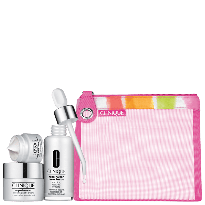 Kit Clinique Repairwear Laser Focus (4 Produtos)