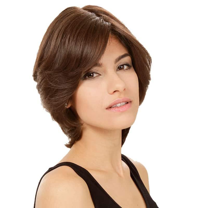 Crown Wigs Amanda Castanho Médio/Claro/Louro Escuro - Peruca 25cm