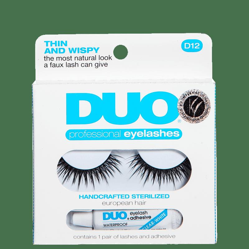 DUO Thin and Wispy - Cílios Postiços com Cola 2,5g