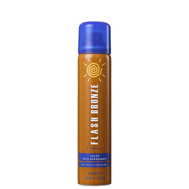 Flash Bronze Loção Auto-Bronzeante Spray - Spray Autobronzeador 100ml