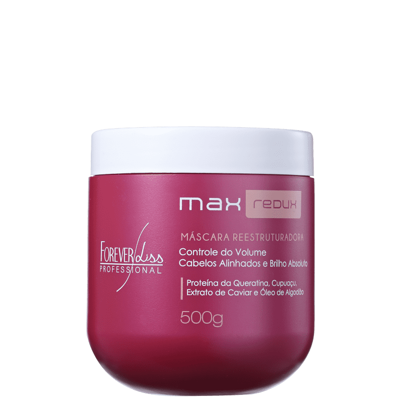 Forever Liss Professional Max Redux Máscara Reestruturadora - Tratamento 500g