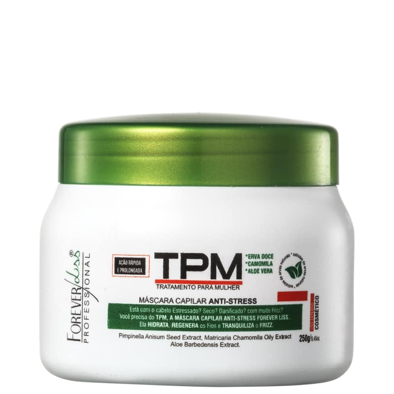 Forever Liss Professional TPM Anti-Stress - Máscara Capilar 250g