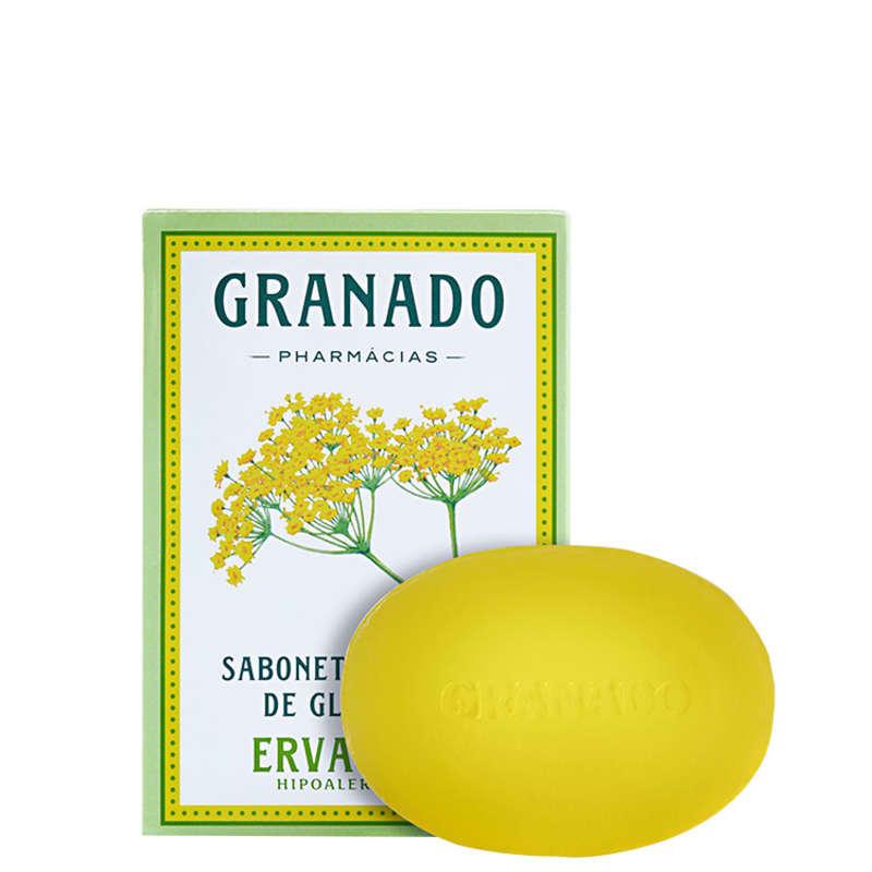 Granado Sabonete Vegetal de Glicerina e Erva-Doce - Sabonete em Barra 90g