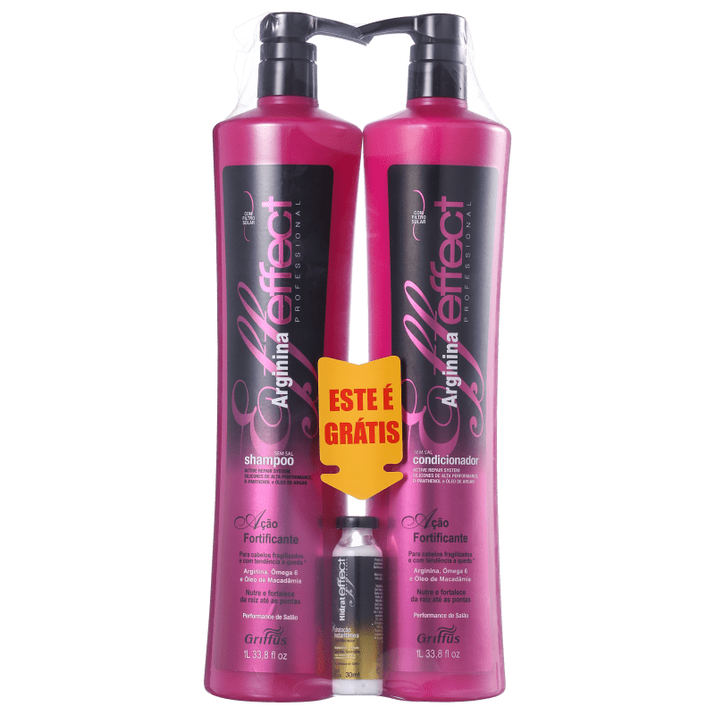 Griffus Arginina Effect Kit de Tratamento (3 Produtos)