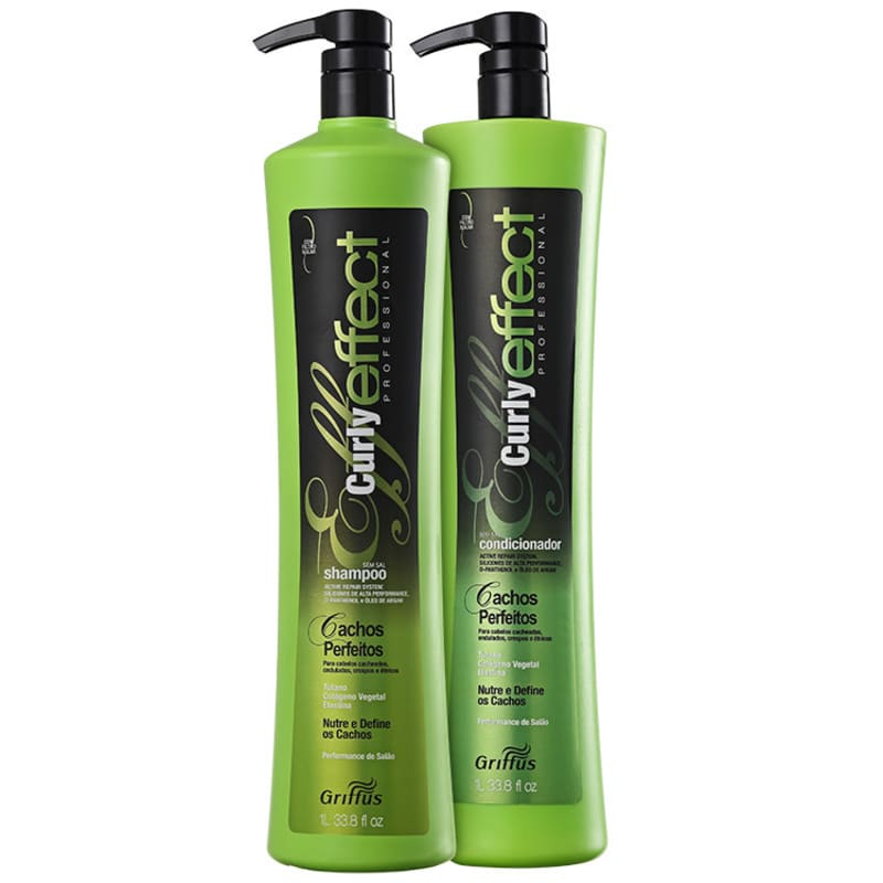 Kit Griffus Curly Effect Duo Professional (2 Produtos)