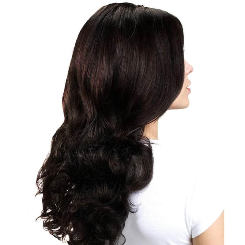 Hairdo Castanho Super Escuro - Aplique Ondulado 58cm