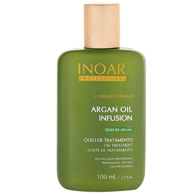 Inoar Extreme Premium Argan Oil Infusion Óleo de Tratamento - Óleo Potencializador de Tratamento 100ml