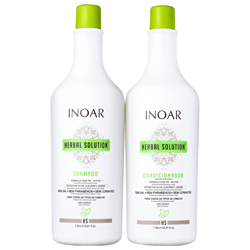 Kit Herbal Solution (shampoo e condicionador) - 1L