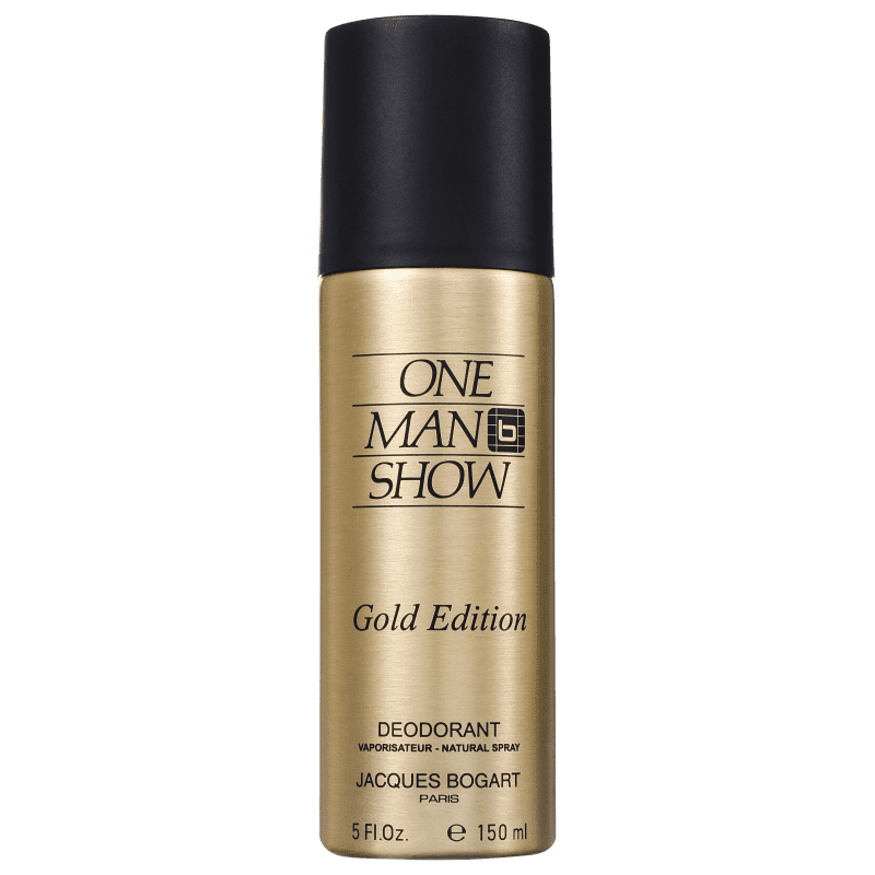 Jacques Bogart One Man Show Gold Edition - Desodorante Masculino 150ml
