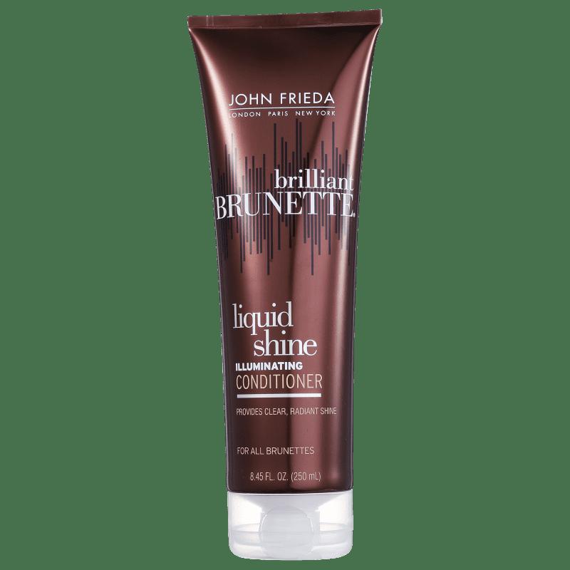 John Frieda Brilliant Brunette Liquid Shine Illuminating Conditioner - Condicionador 250ml