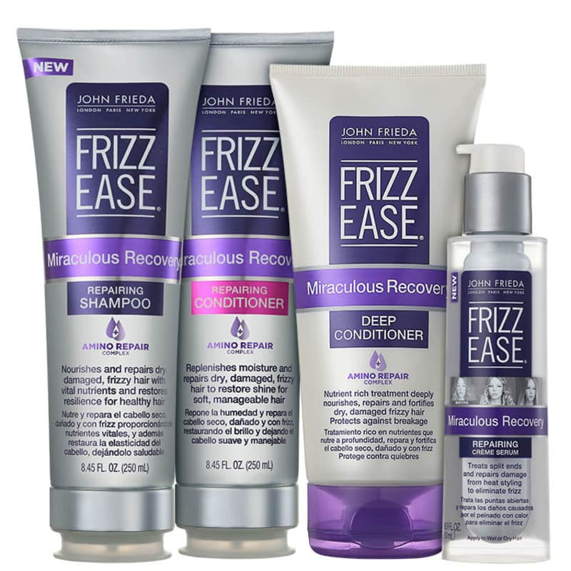 John Frieda Frizz Ease Miraculous Recovery Repairing Full Kit (4 Produtos)