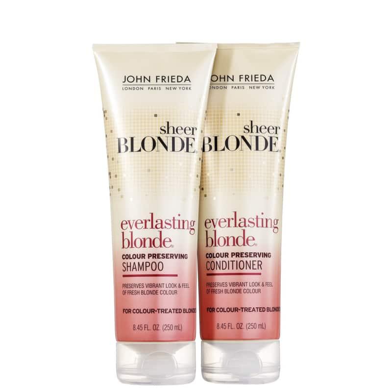 Kit John Frieda Sheer Blonde Everlasting Colour Preserving Duo (2 Produtos)