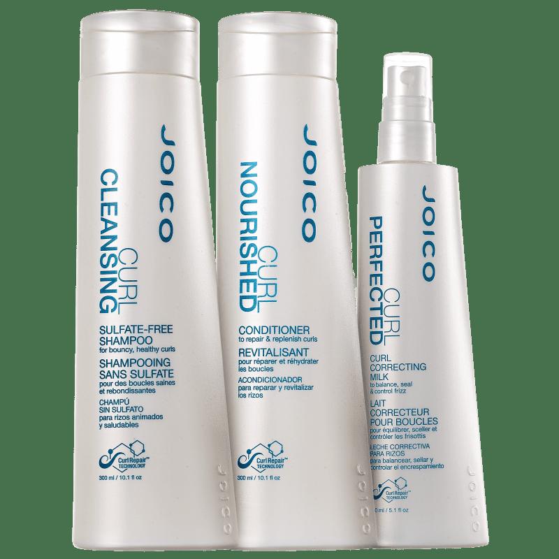 Kit Joico Curl Cachos Condicionados e Protegidos (3 Produtos)