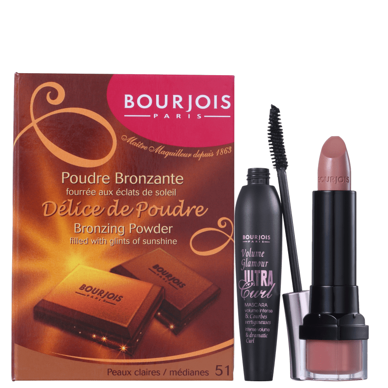 Kit Bourjois Face Glam (3 Produtos)