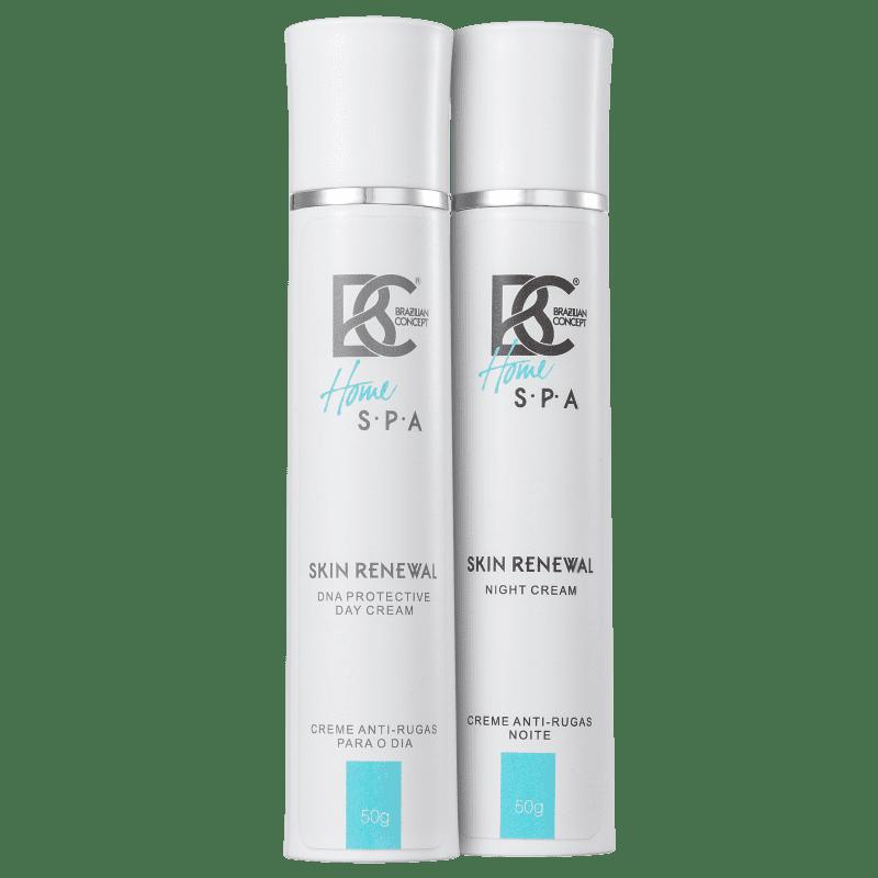 Kit Brazilian Concept Skin Renewal DNA Protective Day and Night (2 produtos)