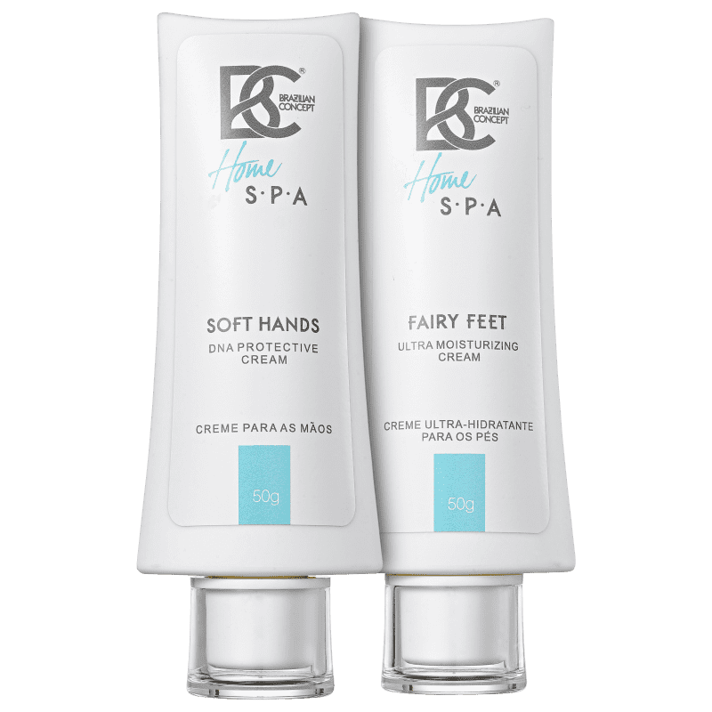 Kit Brazilian Concept Soft Hands Fairy Feet Cream (2 produtos)