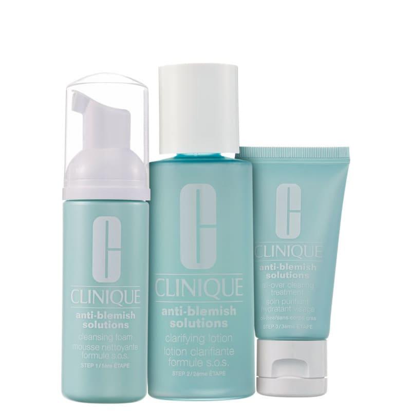 Kit de Tratamento para Pele com Acne