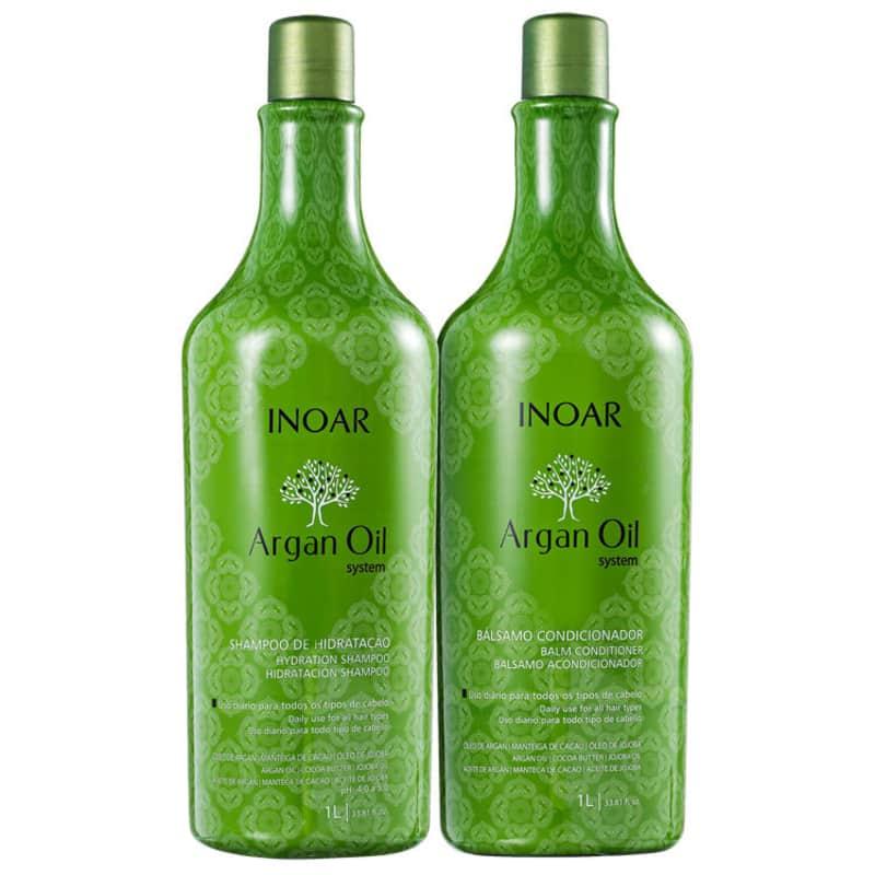 Kit Argan Oil (shampoo e condicionador) - 1L